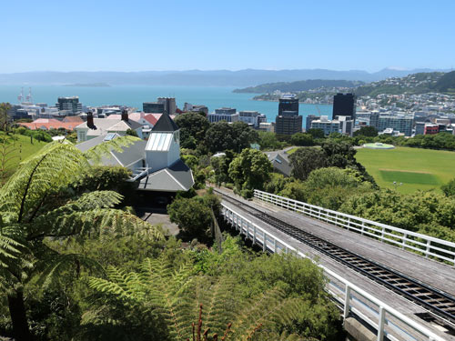Cable Car Track, Wellington NZ